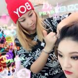 Lily Makeup Job