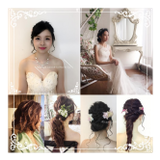 服務內容:韓式新娘化妝,舞台化妝,哈囉喂化妝,宴會化妝