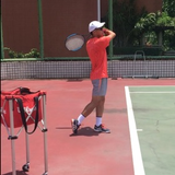 Tennis coaching course