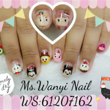 Manicure and Pedicure - Nail Painting - Nail Styling - diy beauty french nails - cheap manicure hong kong cheap - nail salon hong kong - acrylic nails hong kong - nail hong kong - cheap nail salon hong kong-wanyi
