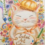 Salad Art class