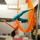 空中瑜珈 - 瑜珈初心者 - 怡利愛玩空中瑜珈-怡利愛玩空中瑜珈